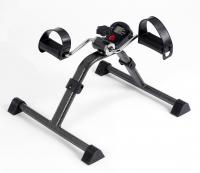 Простой педальный тренажер MINI BIKE со счетчиком калорий (складной) LY-901-SB